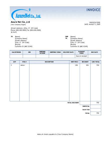 Microsoft Word Invoice Template 2010 Salonbeautyform Com Microsoft Word Invoice Template 2010