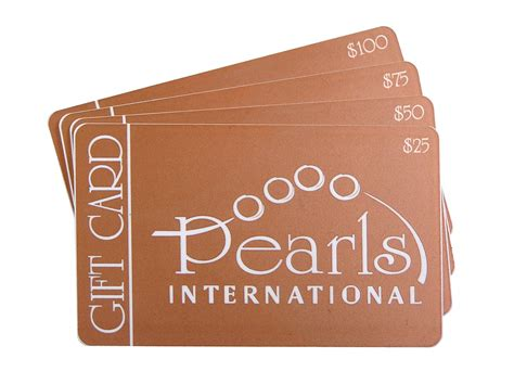 pearls international gift cards pearls international - International Gift Cards