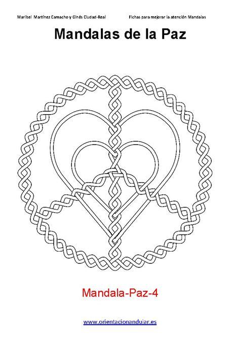 imagenes de mandalas de la paz coloreamos las mandalas de la paz 2014 de orientacion