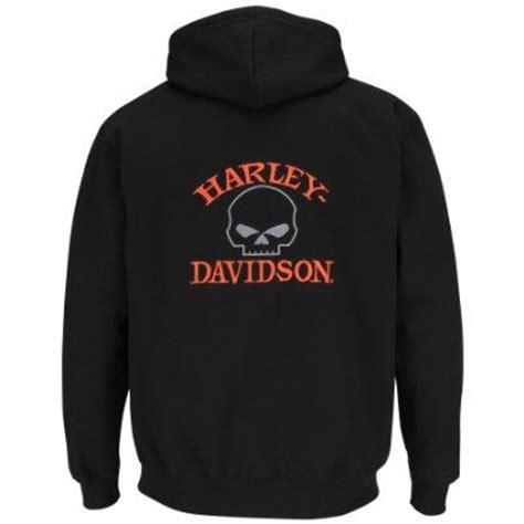 Jaket Zipper Hoodie Harleydavidson Motorcycle harley davidson mens rider x willie g skull fleece