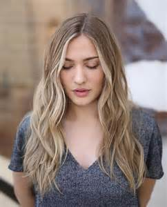 blonde long hair thin 25 best ideas about beach waves hairstyle on pinterest