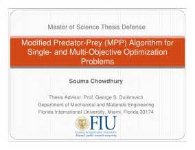 Thesis Presentation Template Master Of Science Thesis Defense Souma Fiu