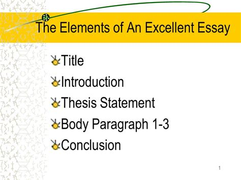 How To Write Excellent Essays by How To Write An Excellent Thesis Statement 28 Images Thesis Statement Argumentative Essay