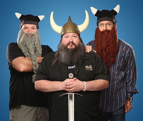 dwarven beard dwarven beard with knit horned helm