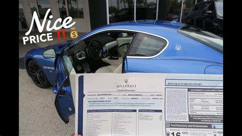 cheapest maserati maserati giveaway winner cheapest 2018 granturismo