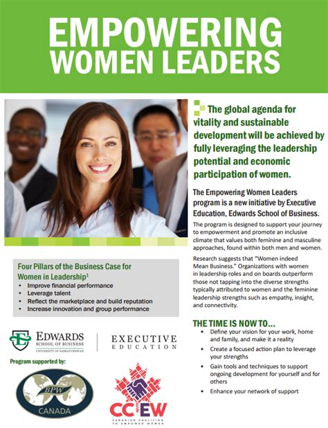Of Saskatchewan Mba Admission Requirements by Canadian Coalition To Empower Ccew