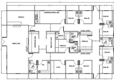 small medical office floor plans wilkins builders modular buildings healthcare and medical