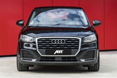 Audi Tuner Abt by Abt Sportsline Veredlet Kleines Audi Suv Q2 Eurotuner News