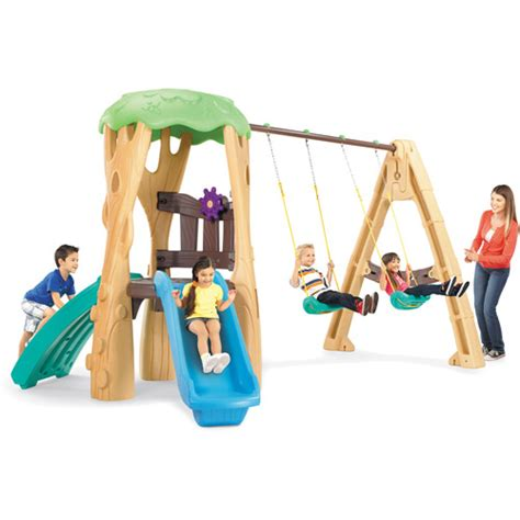 little tikes swing set walmart little tikes tree house swing set walmart com