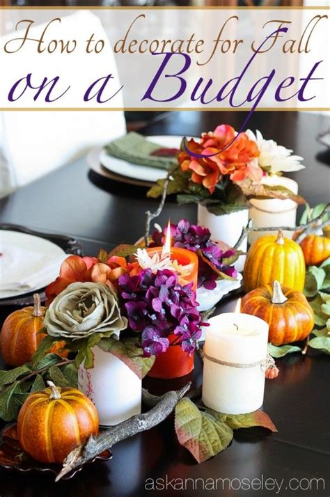 fall decorating on a budget lots of tips for how to decorate for fall on a budget