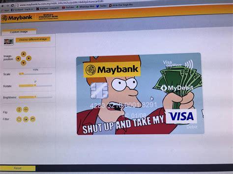 Maybank Debit Card Design
