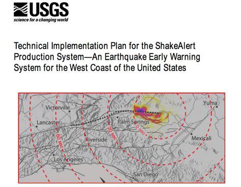 earthquake warning system earthquake early warning richard m allen