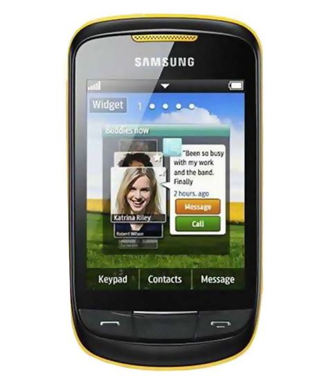 samsung mobile themes gt s3850 samsung gt s3850 yellow price in india buy samsung gt