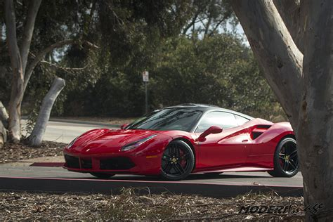 ferrari 488 custom full font protection on a ferrari 488 gtb modern image