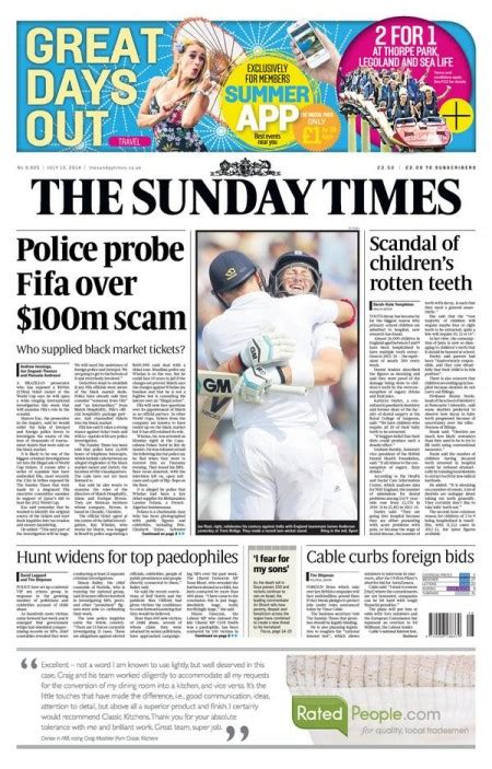 s day times the sunday times