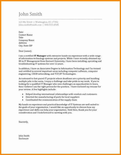 model cover letter sle model cover letter for resume 28 images model of