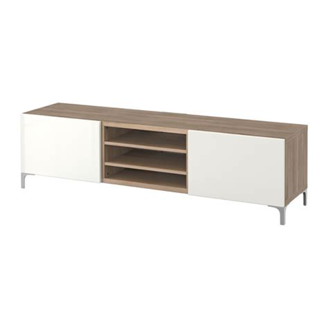 besta tv bench with drawers best 197 tv bench with drawers grey stained walnut effect