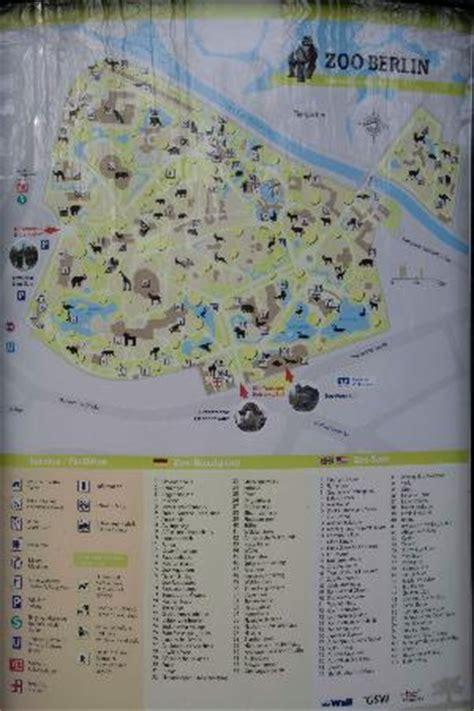 Zoologischer Garten Map by Berlin Zoo Map Picture Of Zoologischer Garten Berlin