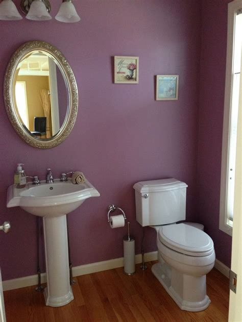 sherwin williams thistle in the powder room it home sweet home powder