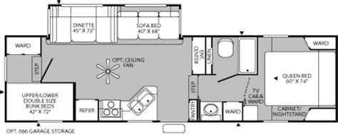 terry fifth wheel floor plans 2005 fleetwood terry quantum fifth wheel rvweb com