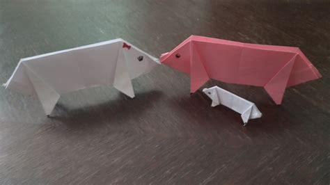 How To Make An Origami Pig - origami pig cover stem explorers
