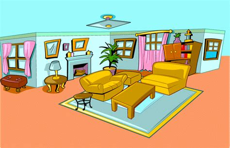 Living Rooms House Kid Esl Houses Vocabulary