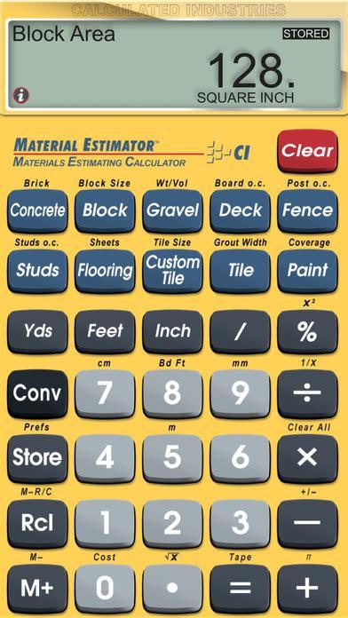 building materials estimator material estimator feet inch fraction construction math and building materials estimating