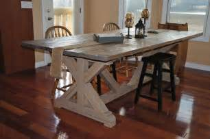 Farmers Kitchen Table Country Farmhouse Kitchen Table