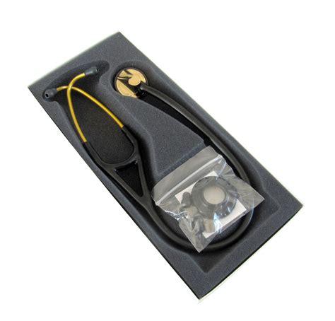 black gray and brass master brass finish littmann master cardiology stethoscope 2175