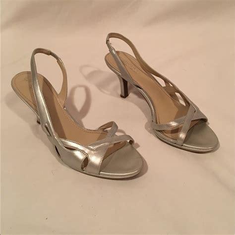 naturalizer sandals n5 comfort naturalizer naturalizer n5 comfort silver strappy heels