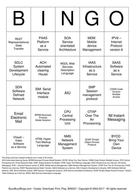 6 x 6 bingo card template editable it bingo bingo cards to print and customize