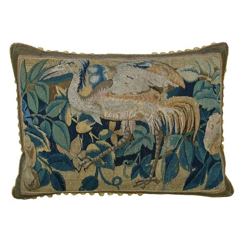 Tapestry Pillows For by Antique Flemish Tapestry Pillow Circa 1630 For Sale At