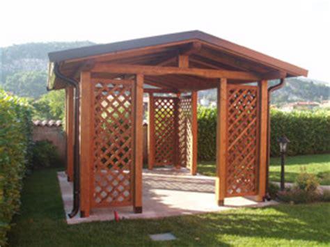 gazebo costi costo gazebo legno pannelli termoisolanti