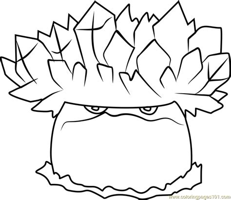 plants vs zombies coloring pages pdf ice shroom coloring page free plants vs zombies