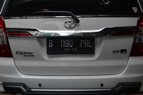 List List Pintu All New Fortuner 2016 Chrome jual trunk lid list pintu belakang grand all new innova