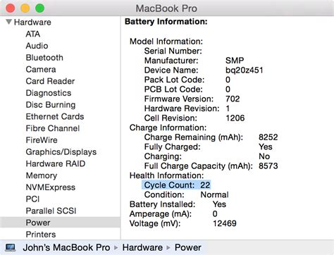 reset laptop battery cycle count 2011 13 quot macbook pro shows a green charging light but