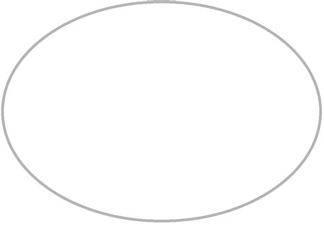oval shaped card template oval template thatswhatsup