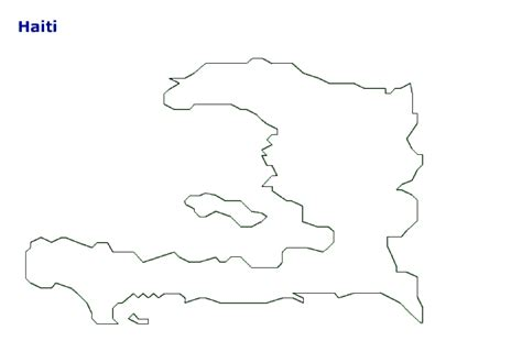 haiti map coloring page map of haiti terrain area and outline maps of haiti