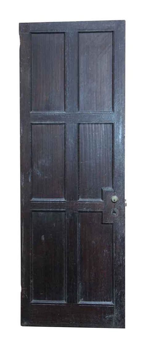 antique interior doors antique narrow doors with ironwork narrow wooden six panel door olde things