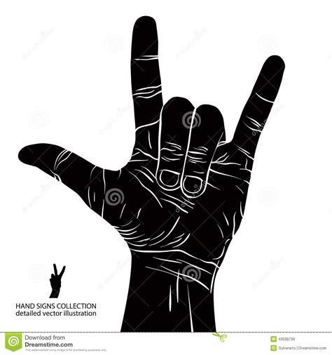 Motorradclub Hardt by Schaukeln Sie An Hand Zeichen Rolle Des Rocks N Hardrock