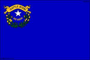 nevada state colors nevada cliparts