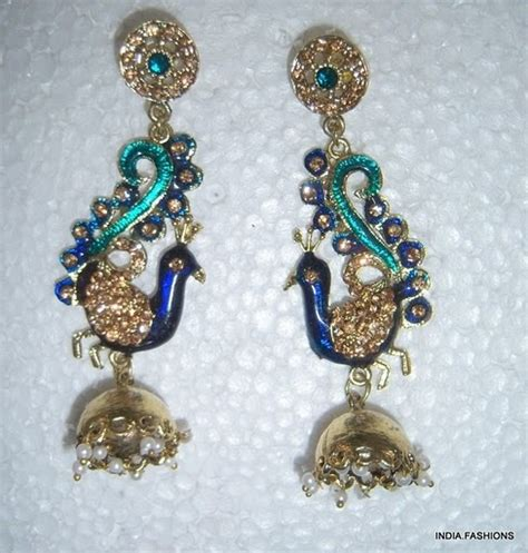 Chandelier Earrings India Indian Chandelier Earrings My Style