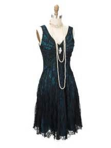 Teal Velvet Fabric Great Gatsby Dress 1920s Inspired Black Lace Dress Blue