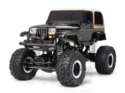 tamiya jeep 1 10 rc 4x4 off road car jeep wrangler yj cr01 chassis