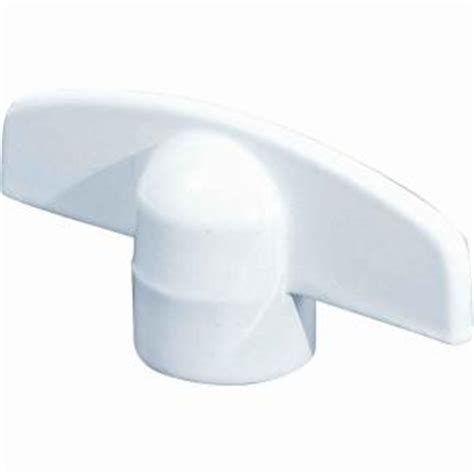 Crank Handles For Windows Decor Prime Line White T Crank Casement Window Handles 2 Pack H 3892 The Home Depot