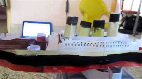How To Make A Titanic Model Out Of Paper - paper titanic model