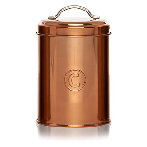 Kitchen Canisters Asda George Home Copper Coffee Canister Kitchen Storage