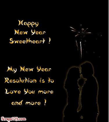 images romantic new year 4 lovers status and cover pic
