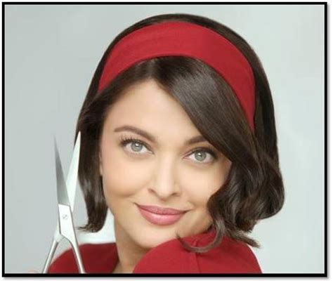 kayak commercial actress hairstyle aishwarya rai bachchan sports cropped hair for television