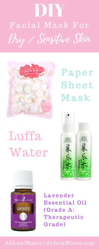 3 diy masks for sensitive skin aldora muses